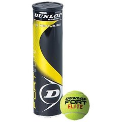 Tennisepallid Dunlop Fort Elite, 4 tk.