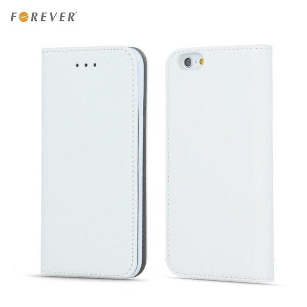 Kaitseümbris Forever Smart Magnetic Fix Book Apple iPhone 7, valge цена и информация | Mobiili ümbrised, kaaned | kaup24.ee