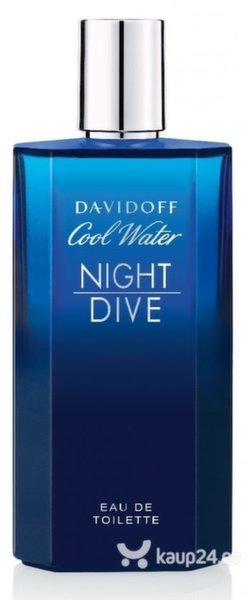 Tualettvesi Davidoff Cool Water Night Dive EDT meestele 75 ml