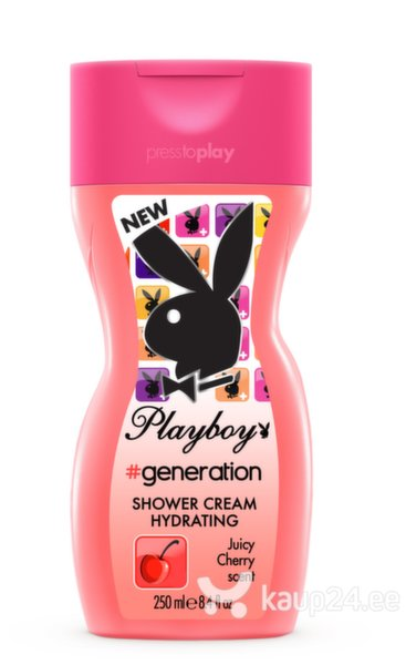 Dušigeel Playboy Generation For Her naistele 250 ml