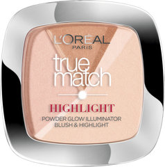 Valgustpeegeldav puuder L'Oreal Paris True Match Highlight 9 g