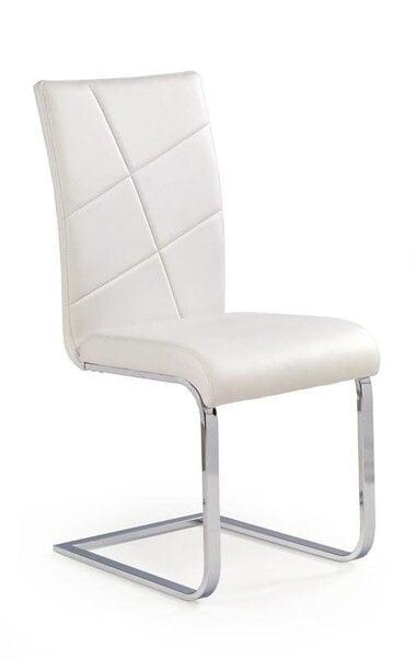 2 tooli komplekt K108, valge цена и информация | Köögitoolid | kaup24.ee