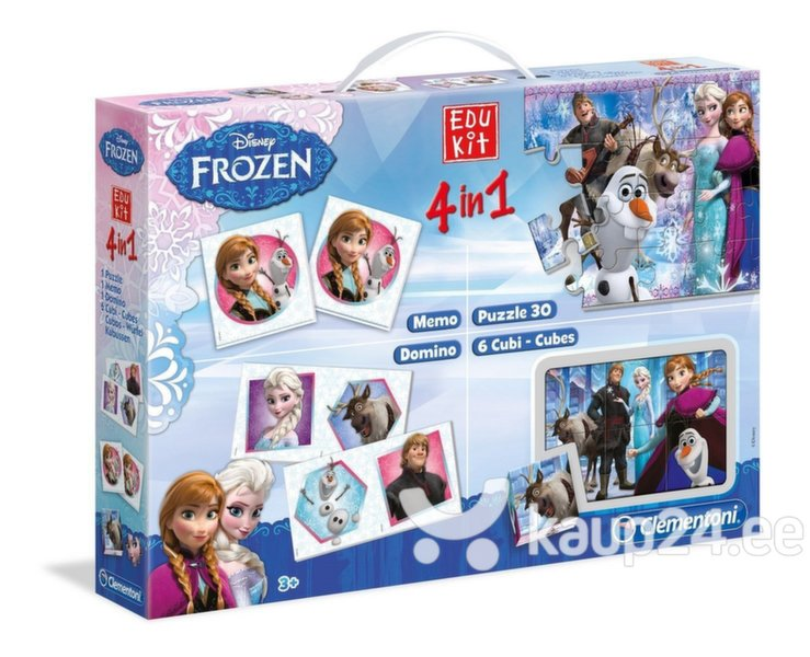 Arendav mängukomplekt 4in1 Clementoni Frozen цена и информация | Arendavad mänguasjad 3+ | kaup24.ee
