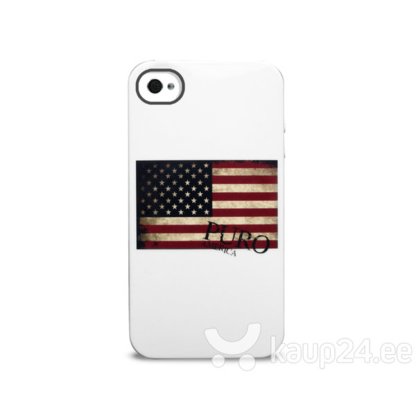 Kaitseümbris Puro IPC4USA3 IPHONE 4/4S USA, sobib iPhone 4/4S цена и информация | Mobiili ümbrised, kaaned | kaup24.ee