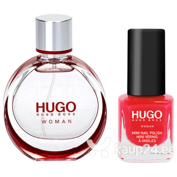 Komplekt Hugo Boss Hugo Woman: EDP naistele 30 ml + küünelakk 4,5 ml цена и информация | Naiste lõhnad | kaup24.ee