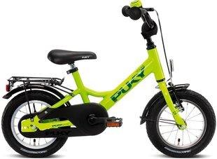 Lastejalgratas PUKY YOUKE 12-1 Alu, roheline hind ja info | Laste jalgrattad | kaup24.ee