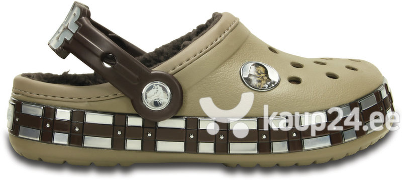Poiste jalanõud Crocs™ Crocband Star Wars Chewbacca Fuzz, pruunid цена и информация   Laste jalanõud   kaup24.ee