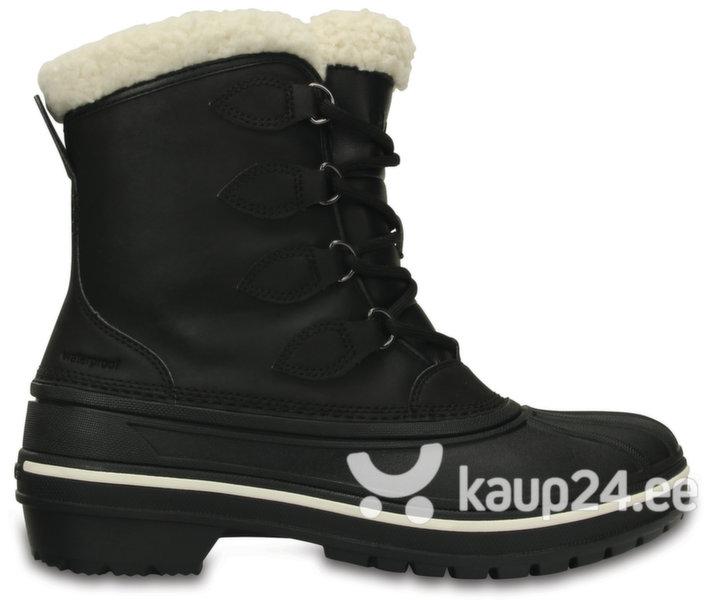 Naiste saapad Crocs™ AllCast II Boot, mustad цена и информация | Poolsaapad ja saapad | kaup24.ee