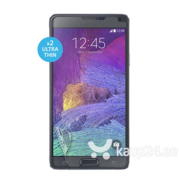 Kaks ekraani kaitsekilet Samsung Galaxy Note 4 telefonile