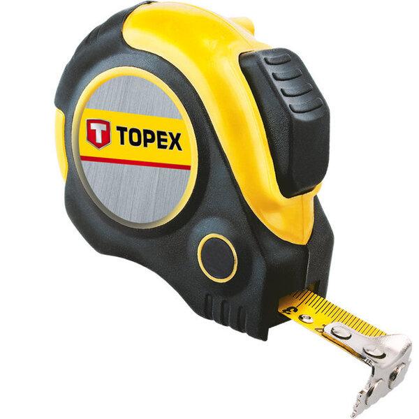 Mõõdulint Magnetic-Nylon Topex 3m, 19mm hind ja info | Käsitööriistad | kaup24.ee