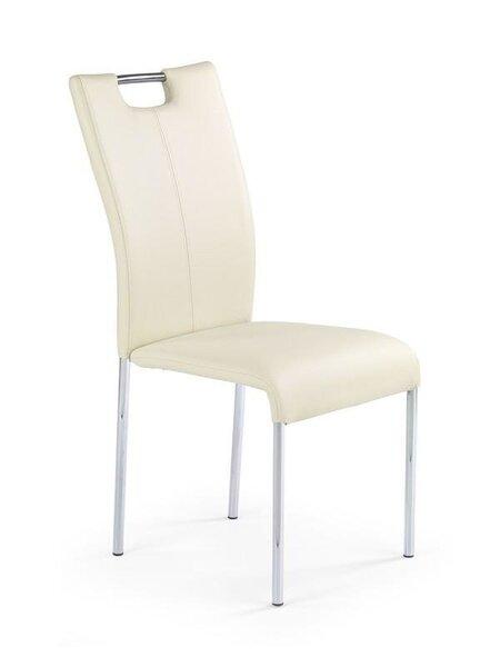 4 tooli komplekt K139, kreemikas цена и информация | Köögitoolid | kaup24.ee