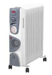Õliradiaator Volteno VO0275 ventilaatoriga ja taimeriga, 11 sektsiooni hind ja info | Radiaatorid, konvektorid | kaup24.ee