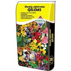 Turba substraat lilledele Durpeta, 20l hind ja info | Muld, turvas, kompost | kaup24.ee