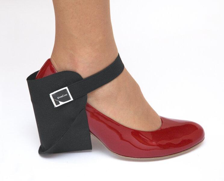 Parema jalanõu kontsakaitse ShoeCoat, must цена и информация | Rõivaste ja jalatsite hooldus | kaup24.ee