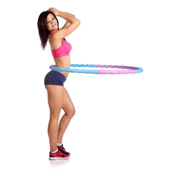 Masseeriv hularõngas InSportLine Weight Hoop II