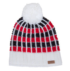 Naiste müts Five Seasons Saalbach, must/valge/punane