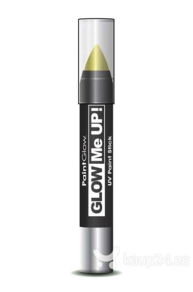 Pliiats PaintGlow Glow Me Up UV Paint Stick 3.5 g, kollane цена и информация | Karnevali  kostüümid | kaup24.ee