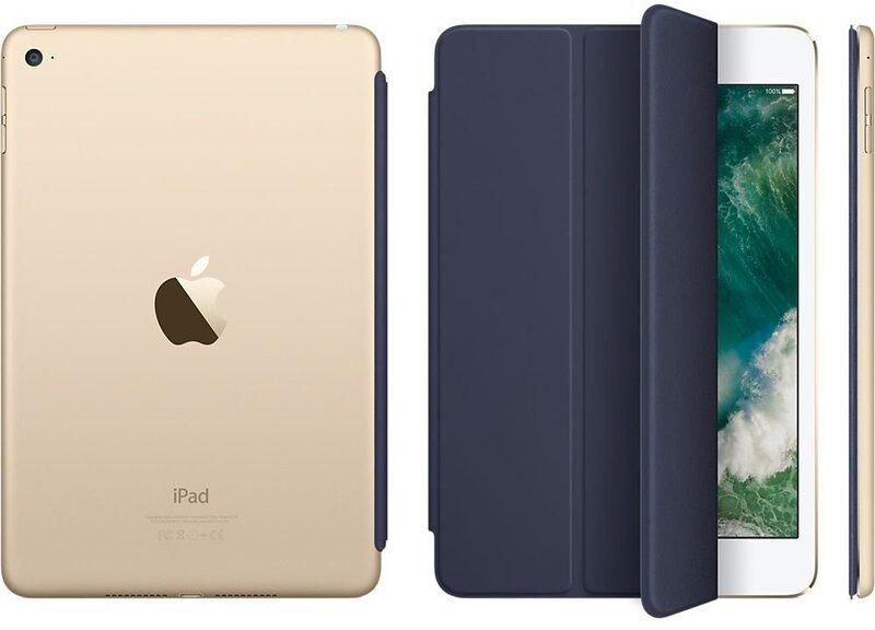 Nutikas kaitseümbris sobib Apple iPad mini 4, tumesinine