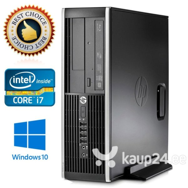 Arvuti HP Elite 8200, Intel Core i7 2600 цена и информация | Lauaarvutid | kaup24.ee
