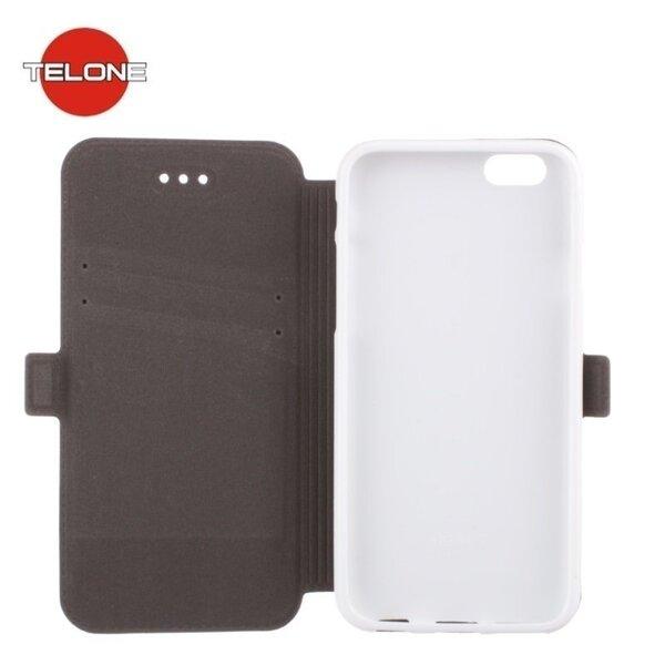 Kaitseümbris Telone Super Slim Shine Book sobib Huawei Honor 5C / Honor 7 Lite, valge цена и информация | Mobiili ümbrised, kaaned | kaup24.ee