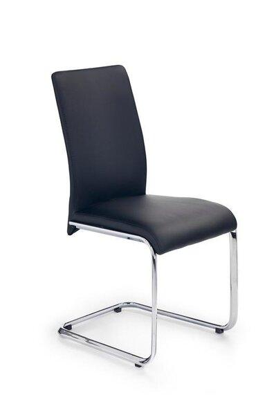 4-osaline toolide komplekt Emilio, must hind ja info | Köögitoolid | kaup24.ee