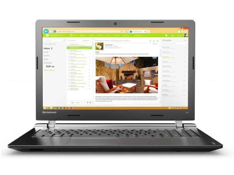 Sülearvuti Lenovo IdeaPad 100 80QQ00P2PB цена и информация | Sülearvutid | kaup24.ee