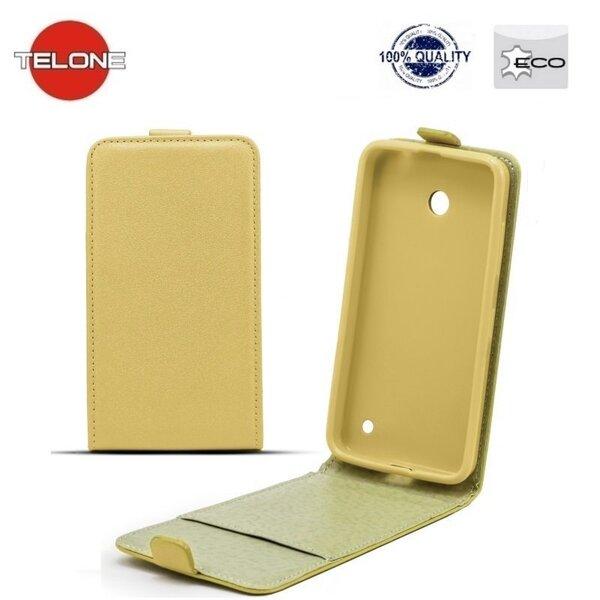 Kaitseümbris Telone Shine Pocket Slim Flip Case sobib Apple iPhone 7, kuldne hind ja info | Mobiili ümbrised, kaaned | kaup24.ee