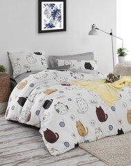 Voodipesukomplekt Hello Cats, 200x220, 4-osaline hind ja info | Voodipesukomplektid | kaup24.ee
