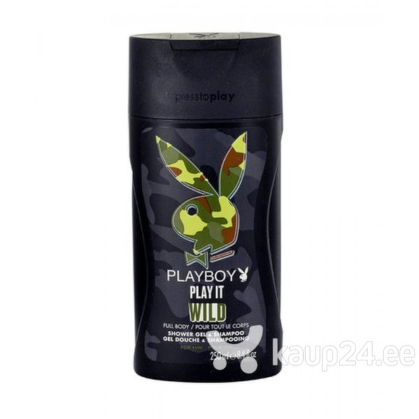 Dušigeel Playboy Men Play it Wild 250 ml