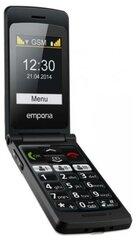 Mobiiltelefon Emporia Flip Basic F220, must hind ja info | Mobiiltelefonid | kaup24.ee