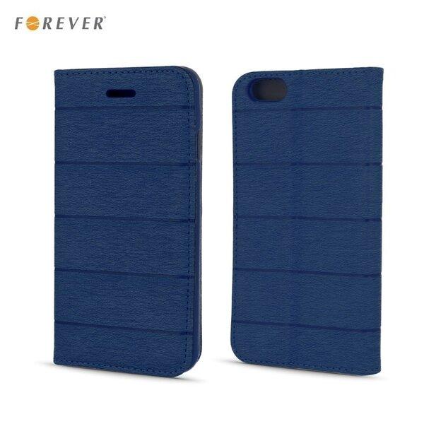 Kaitseümbris Forever Smart Magnetic Fix Cloth Line Samsung Galaxy Grand Prime (G530/G531), tumesinine