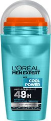Дезодорант L'Oreal Paris Men Expert Cool Power 50 мл цена и информация | Дезодоранты | kaup24.ee