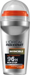 Rulldeodorant L'Oreal Paris Men Expert Invincible 50 ml