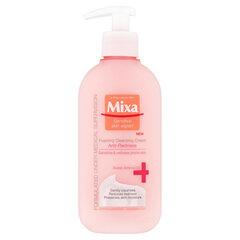 Нежный очищающий крем-пенка Mixa