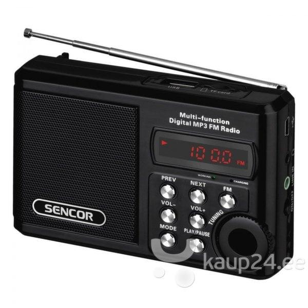 Радиоприемник Sencor SRD 215 цена и информация | Raadiod ja äratuskellad | kaup24.ee