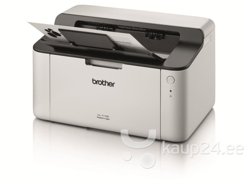 Mustvalge laserprinter, Brother HL-1110