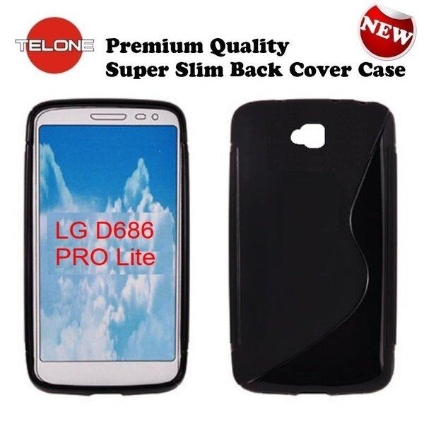Kaitseümbris Telone sobib LG D684 G Pro Lite, must
