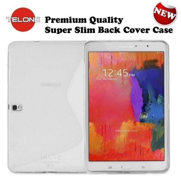 Tahvelarvuti kaitseümbris Telone Samsung Galaxy Tab Pro 10.1 (T520), Läbipaistev hind ja info | Tahvelarvuti kaaned ja kotid | kaup24.ee
