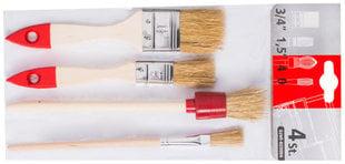 Pintslid HARDY, 4tk hind ja info | Värvimistööriistad | kaup24.ee