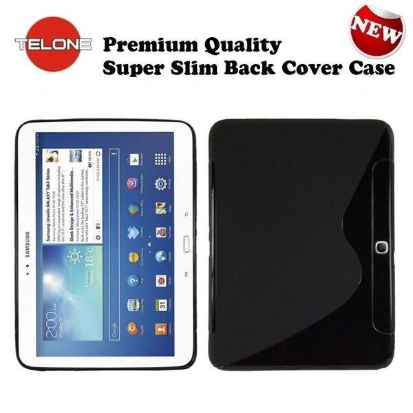 Tahvelarvuti kaitseümbrisTelone Samsung Galaxy Tab 3 10.0 (P5200), Must цена и информация | Tahvelarvuti kaaned ja kotid | kaup24.ee