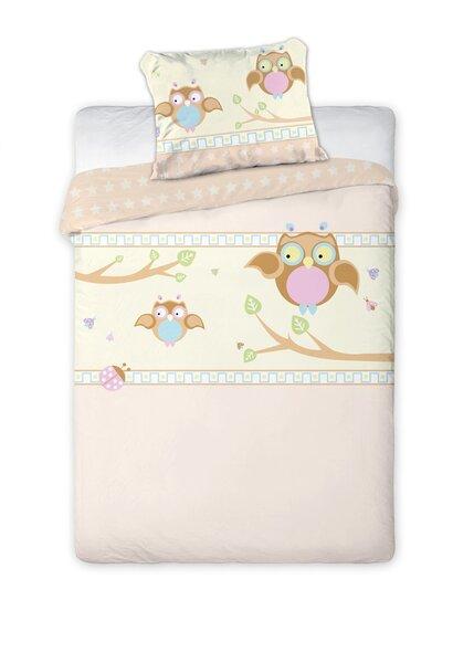 Laste voodipesukomplekt 2-osaline, Öökullid