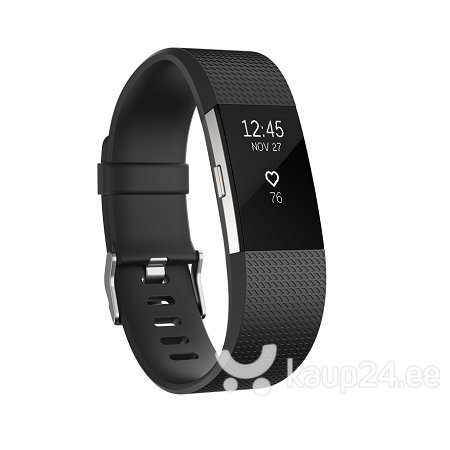 Nutivõru Fitbit Charge 2 L must