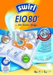 Tolmukotid Melitta SWIRL EIO80/4 MP3, 4 tükki+ universaalne õhufilter