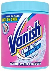 Plekieemalduspulber Vanish Oxi Action Sensitive 940 g