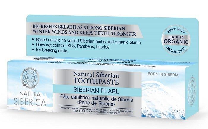 Valgendav hambapasta Natura Siberica 100 g hind ja info | Suuhügieen | kaup24.ee