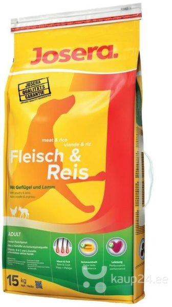 Josera Meat & Rice, 15 kg цена и информация   Kuivtoit koertele   kaup24.ee