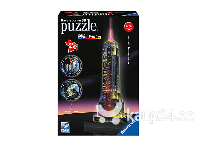 Pusle Ravensburger Empire State Building, 125661 hind