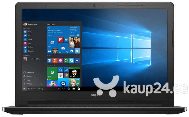 Sülearvuti Dell Inspiron 15 3552 N3710 4GB 500GB LIN цена и информация | Sülearvutid | kaup24.ee