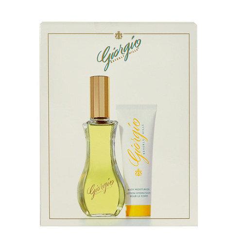 Komplekt Giorgio Beverly Hills Yellow: EDT naistele 90 ml + ihupiim 50 ml цена и информация | Naiste lõhnad | kaup24.ee