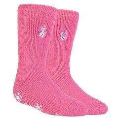 Tüdrukute sokid Heat Holders Frozen, roosa